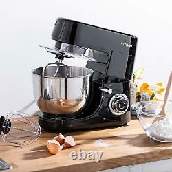 1500W Food Stand Mixer 6 Level Variable Speed 6L Stainless Steel Mixing Bowl wit