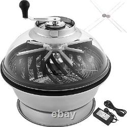 19 Electric Bowl Trimmer Hydroponic Leaf Bud Trimmer Spin Reaper Cutter Flower