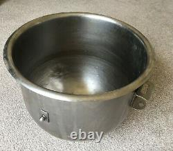 20 Litre Stainless Steel Mixing Bowl Suits Hobart Mixer Used