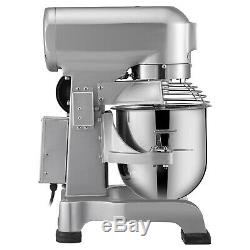 20Qt 1HP Kitchen Electric Food Stand Mixer with 3 Speed Stainless Steel Bowl