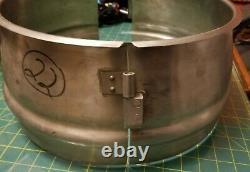 30 Qt Quart Mixing Bowl Extender Commercial Mixer Attachment Stainless Steel