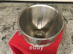 30 Qt Stainless Steel Bowl for 60 Qt Mixer Hobart NSF #7669 Commercial Accessory