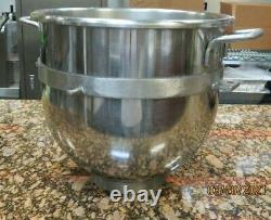 30 Qt. Stainless Steel planetary Mixer Bowl