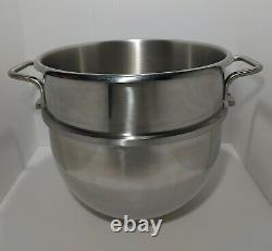 30 qt. Commercial Stainless Steel Mixing Bowl for Hobart D-300 Classic Series