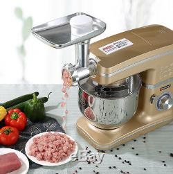 5L 220V 1000W Multifunction Automatic Stand Mixer Machine Mixing Bowl Fr Kitchen