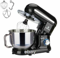 6-Speed Control Electric Stand Mixer 5.8QT with Stainless Steel Mixing Bowl Food