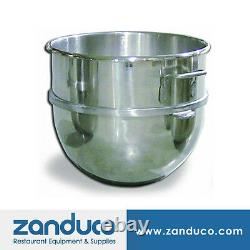 60 Qt Replacement Stainless Steel Mixing Bowl for Hobart Mixer