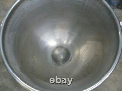 60 Quart Qt Stainless Steel Mixing Bowl For Hobart Mixers
