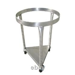 80-Qt-Mixing-Bowl Mobile Dolly Stand for Vollrath Bowl