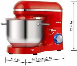 Aucma Food Mixer, 1400W Kitchen Stand Mixer with 6.2 L Stainless Steel Mixing Bo