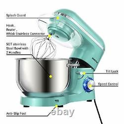 Aucma Stand Mixer, 1400W Food Mixer with 6.2 L Stainless Steel Mixing Bowl, 6