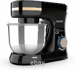 BN Electric Food Stand Mixer 8 Speeds 5-QT Tilt-Head Bowl Stainless Steel Black