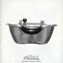Brushed Stainless Steel Shampoo Bowl salon sink Spa Beauty Equipment TLC-1367