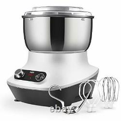 CKOZESE 7 Qt Compact Kitchen Stand Mixer with Stainless Steel Mixing Bowl, Dish