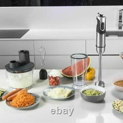 Cecotec Blender Hand Powerful Titanium 1000 Pro. 1000 W 21 Levels And Turbo