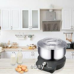 Compact Food Mixers with 5QT Mixing Bowl for Bread and Dough Electric 600 Watts