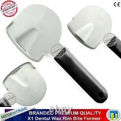 Dental Wax Amalgam Carving Kit Rim Bite Impressions Spatula Plaster Mixing Bowl