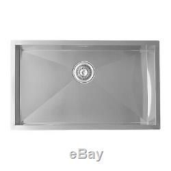 ENKI KS001 Large Kitchen Sink Stainless Steel 1 One Single Bowl Undermount