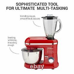Electric Stand Mixer Food Multi Mixing Bowl Blender Beater Dough 2-in-1 1300W 7L