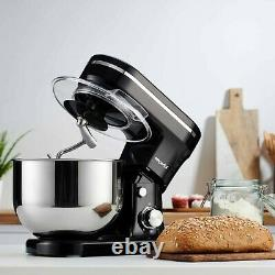 Emperial Food Stand Mixer with Beater Dough Hook & Whisk 5L Mixing Bowl 1200W