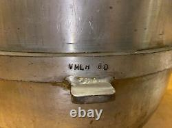 Genuine Hobart 60 QT Bowl Stainless Steel Mixing Bowl Mixer VMLH 60