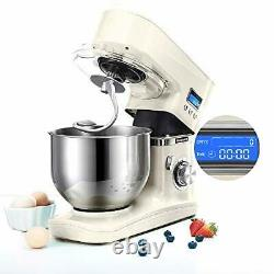 Hauswirt Stand Mixer, Food Mixer, 5L Stainless Steel Mixing Bowl, 8 Speed -1000W