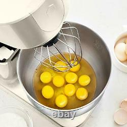 Hauswirt Stand Mixer, Food Mixer with 5L Stainless Steel Mixing Bowl, 8 Speed
