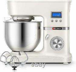 Hauswirt Stand Mixer, Food Mixer with 5L Stainless Steel Mixing Bowl, 8 Speed -1