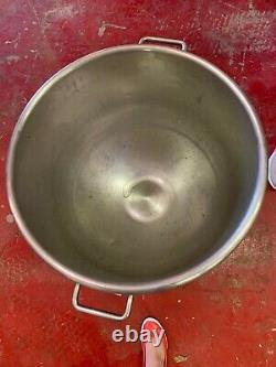 Hobart Stainless Steel Mixing Bowl 80 QT on Wheels
