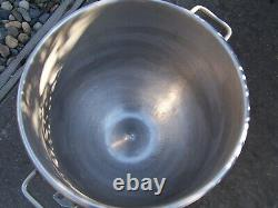 Hobart Vmlh-60 Stainless Steel 60 Quart Mixing Bowl For Commercial Stand Mixer