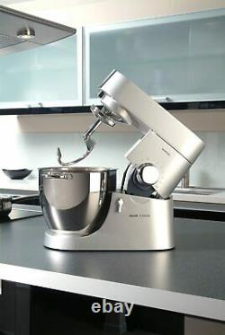 Kenwood Chef Major 800W Stand Mixer with 3 Stainless Steel Bowl Tools (KMM021)