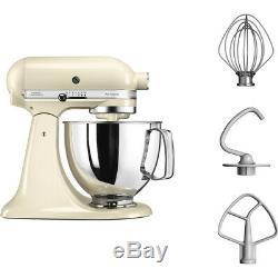 KitchenAid 4.8L ARTISAN Stand Mixer 5KSM125 Almond Cream