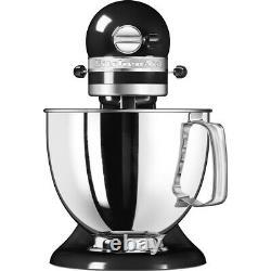 KitchenAid 4.8L ARTISAN Stand Mixer 5KSM125BOB Onyx Black