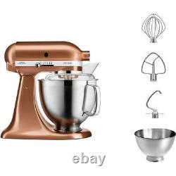 KitchenAid 4.8L ARTISAN Stand Mixer 5KSM185PSBCP Copper
