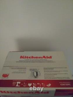 KitchenAid 5 Quart 325 Watt Tilt Head Stand Mixer. Stainless Steel Bowl