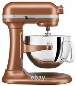 KitchenAid 6-Quart Pro 600 Bowl-Lift Stand Mixer Copper Pearl