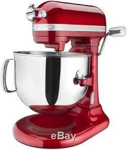 KitchenAid 7-Quart Pro Line Bowl-Lift Stand Mixer Candy Apple Red
