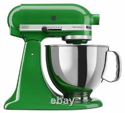 KitchenAid KSM150PSCG 5-Qt. Stand Mixer with Pouring Shield Canopy Green