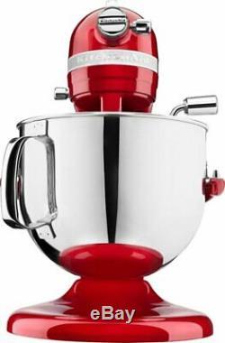 KitchenAid KSM7586PCA Pro Line 7 Quart Bowl-Lift Stand Mixer, Candy Apple Red