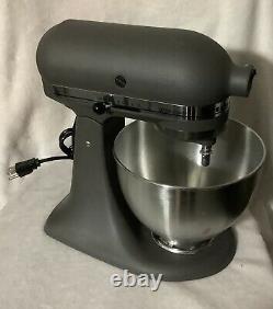 KitchenAid KSM95 Ultra Power 10 Speed 300-Watt 4.5-Quart Stand Mixer, Grey