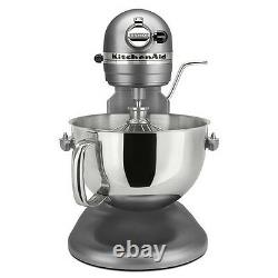 KitchenAid Pro 600 Rksm6573CU Stand Mixer 10speed SILVER Professional heavy duty