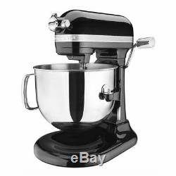 KitchenAid Pro Line 7 Qt Bowl-Lift Stand Mixer Red KSM7586P Onyx Black