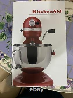 KitchenAid Professional 600 Series 10 Speed 6 QT Bowl-Lift Stand Mixer Pink