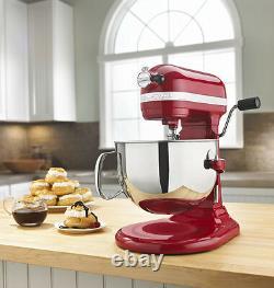 KitchenAid RRKP26M1Xer PRO 600 HD STAND MIXER 6 qt BIG RED Pro 6000 Special edit