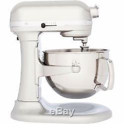 KitchenAid Refurbished RKP26M1XSR Pro Bowl Lift Mixer 6 quart Sugar Pearl