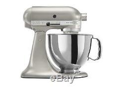 KitchenAid Stand Mixer tilt 5-QT RRK150sr Metal Artisan Tilt Sugar Pearl