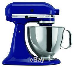 KitchenAid Stand Mixer tilt 5-Quart ksm150psbu Artisan 10-sp Cobalt Blue