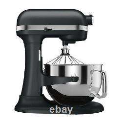 KitchenAid rKP26M1Xlc PRO 600 Stand Mixer 6 qt Big Super Large Black Licorice