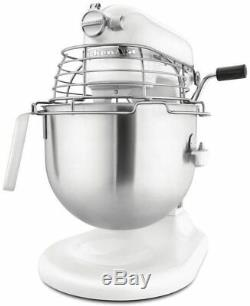 Kitchenaid 5KSM7990XBWH Planetary Food Mixer, 6.9 L, White