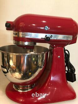 Kitchenaid Artisan Stand Mixer 5KSM150PS Empire Red